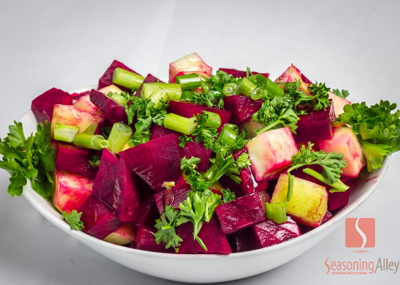 32) Beets and Green Apple Salad