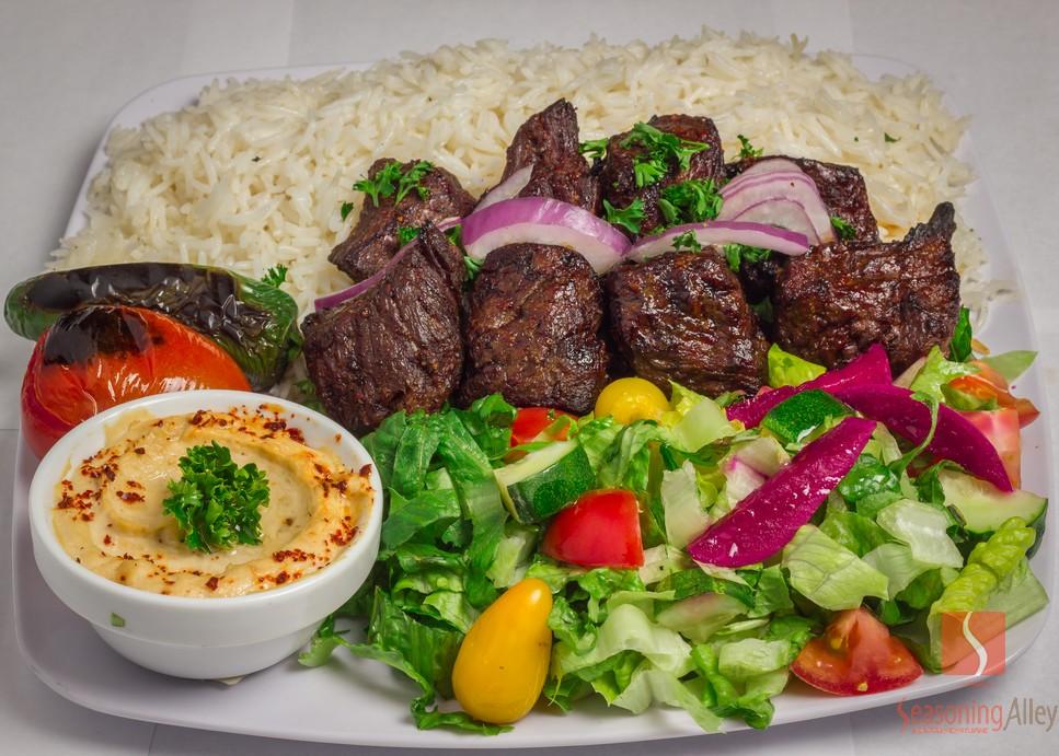10) Beef Shish Kabob