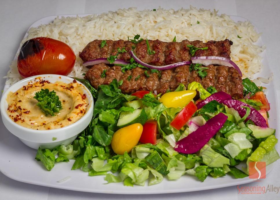 11) Beef Lula Kabob