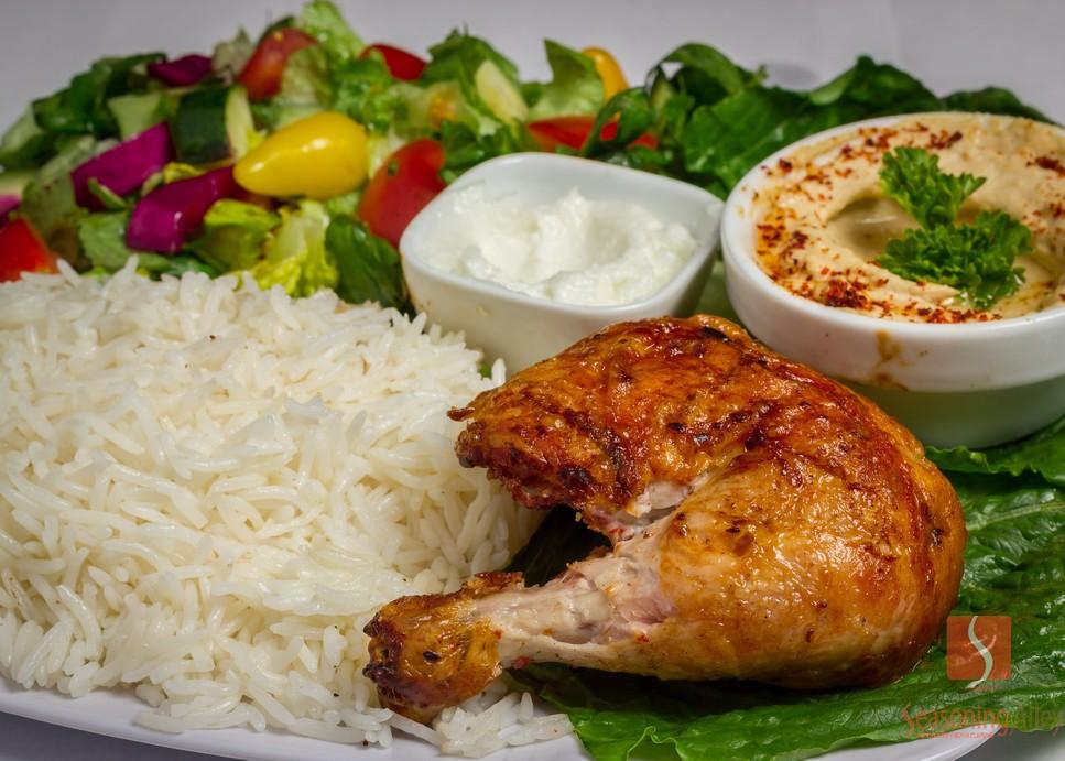 5) Quarter Dark Chicken