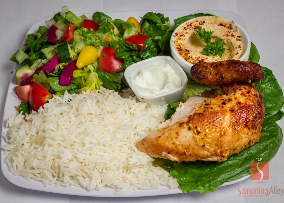 4) Quarter White Chicken