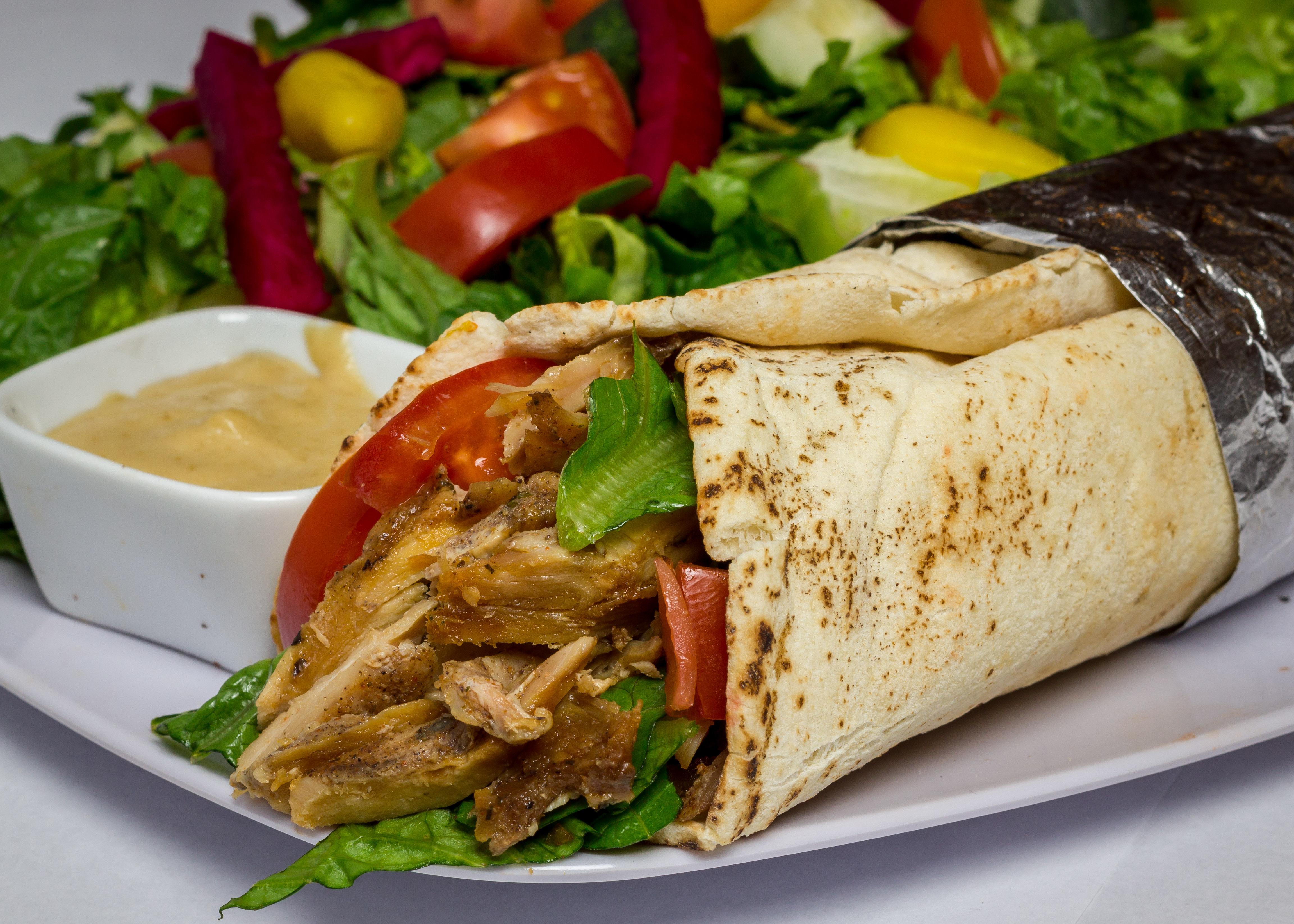 22) Chicken Shawarma Wrap