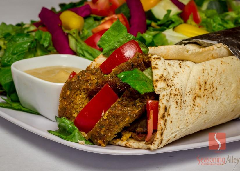 20) Falafel Wrap