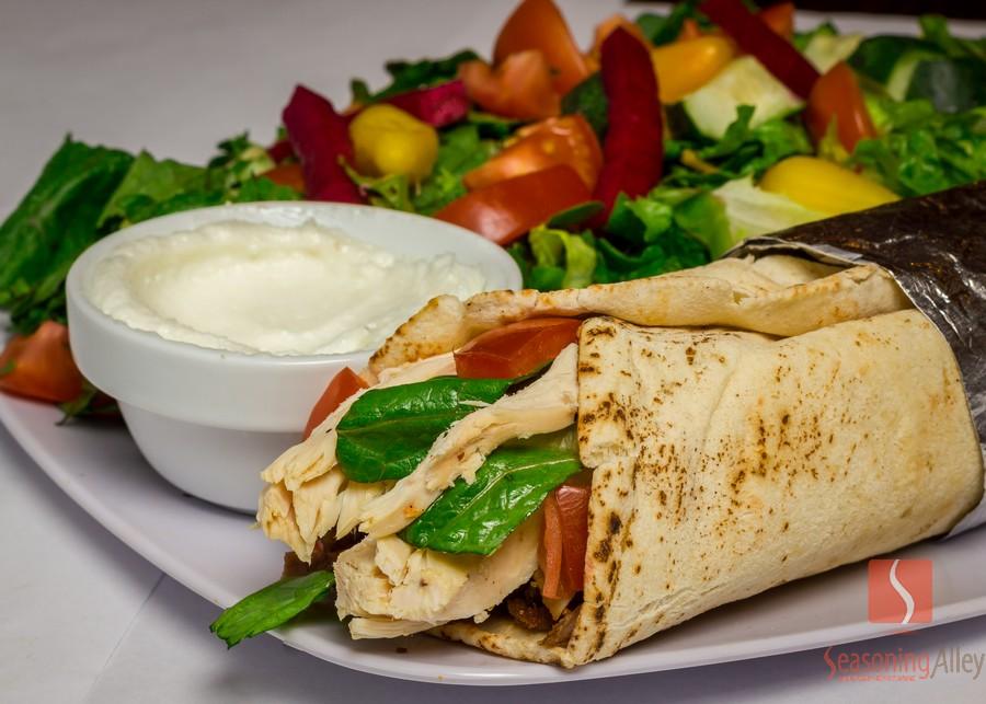 23) Rotisserie Chicken Wrap
